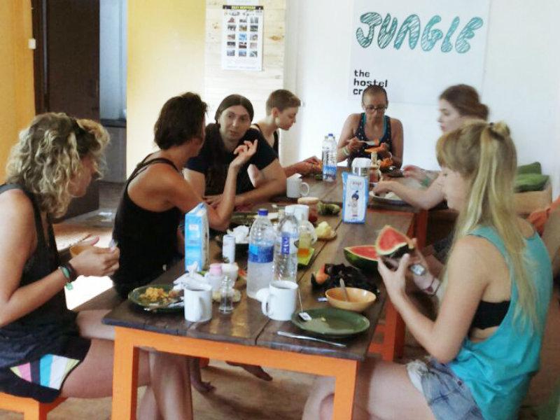 The Hostel Crowd Jungle
